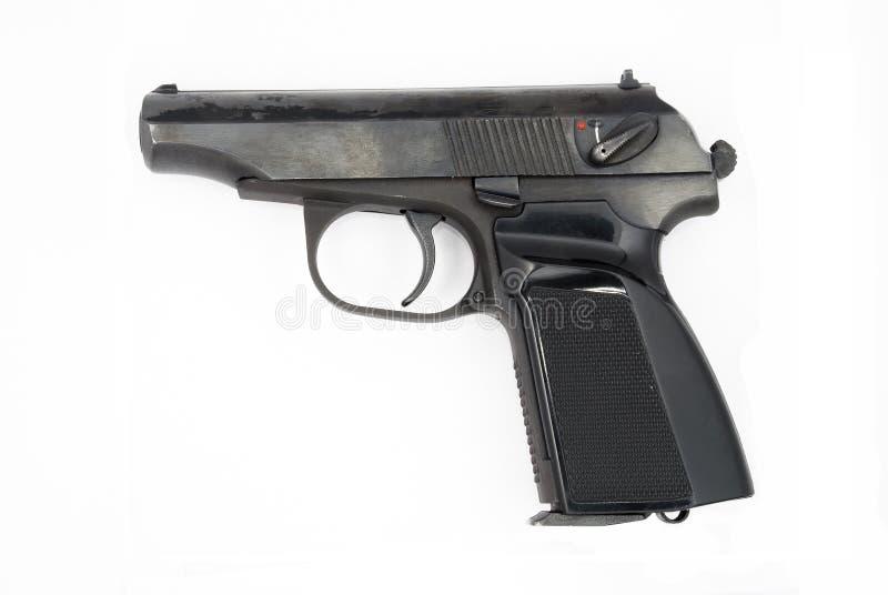 9mm makarovpistol royaltyfri bild