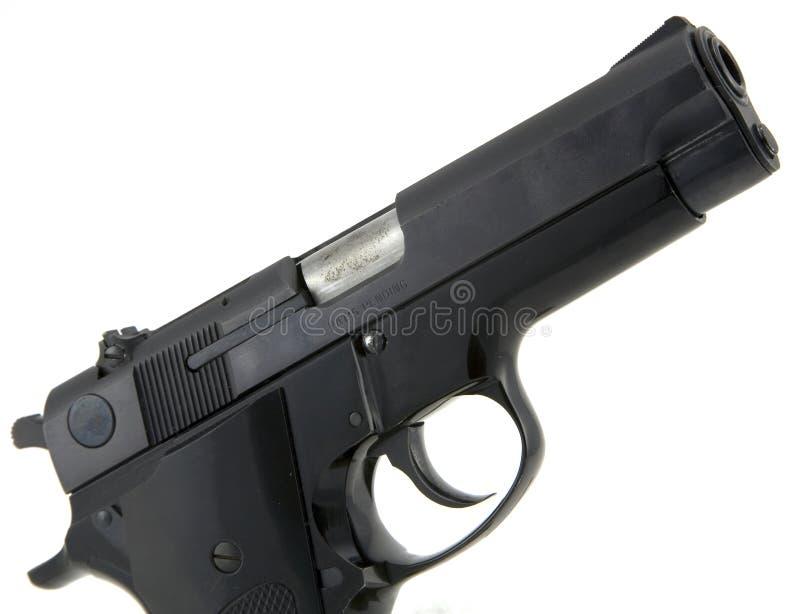 Download 9mm pistol stock photo. Image of metal, robber, ammunition - 4313494