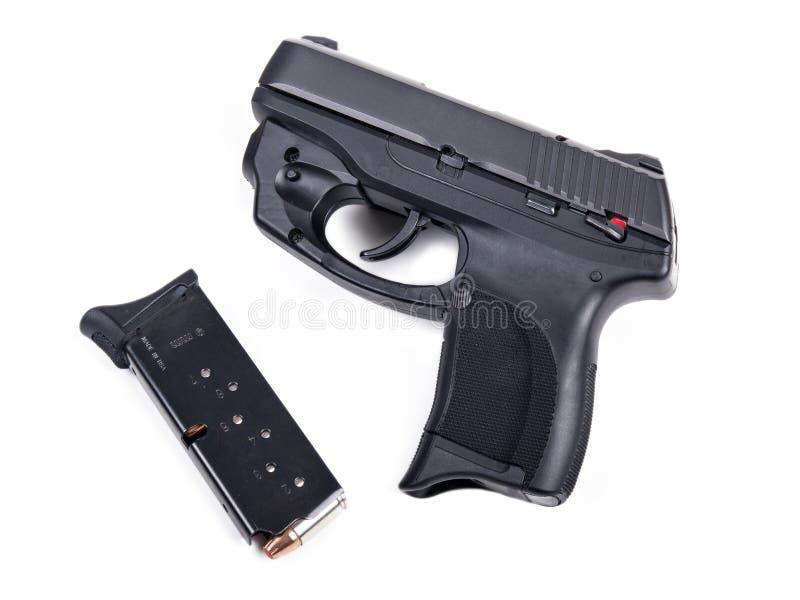 9mm pistolecik & magazyn fotografia royalty free