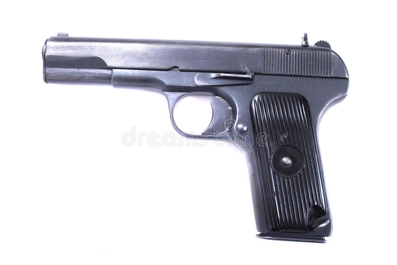 9mm Waffe stockfoto