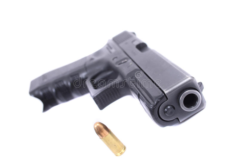 Download 9mm weapon stock photo. Image of crime, pistol, beretta - 10499816