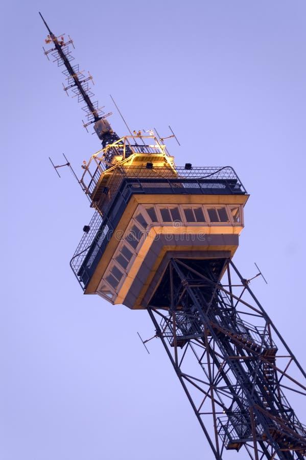 9th башня радио berlin западная стоковое изображение rf
