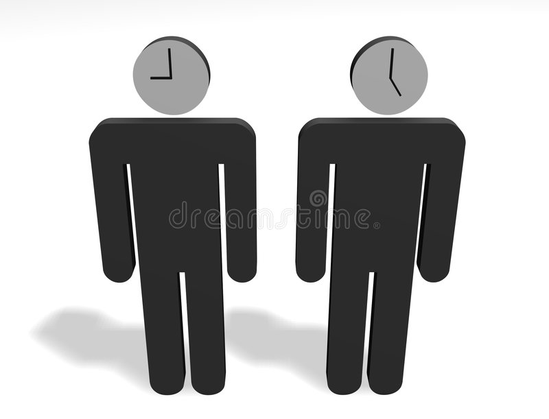 Download 9to5 workers stock illustration. Image of nine, hour, five - 4294537
