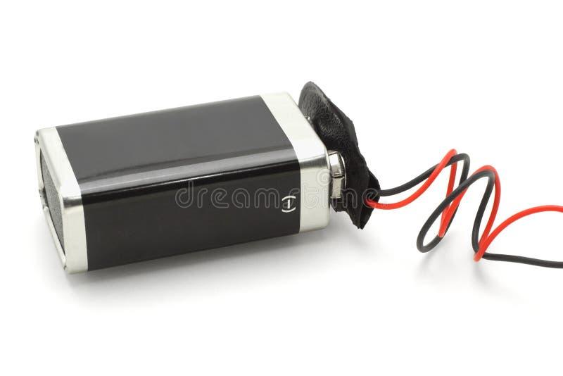 9v bateria obrazy stock
