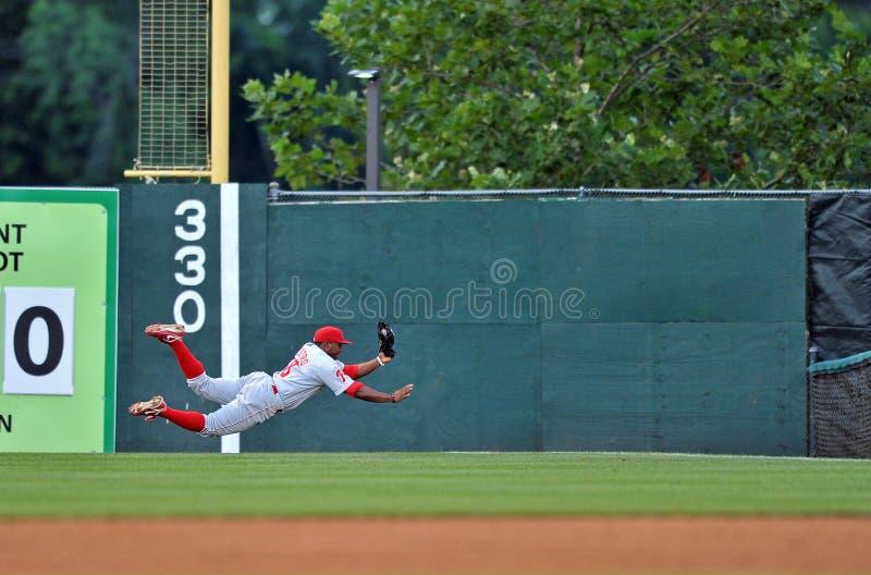 Ação 2012 do basebol do campeonato menor imagens de stock royalty free