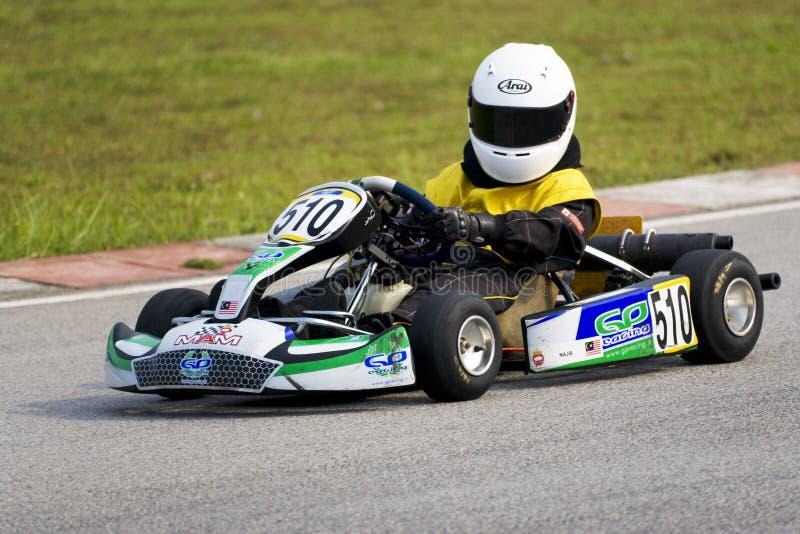 Ação de Karting imagens de stock royalty free