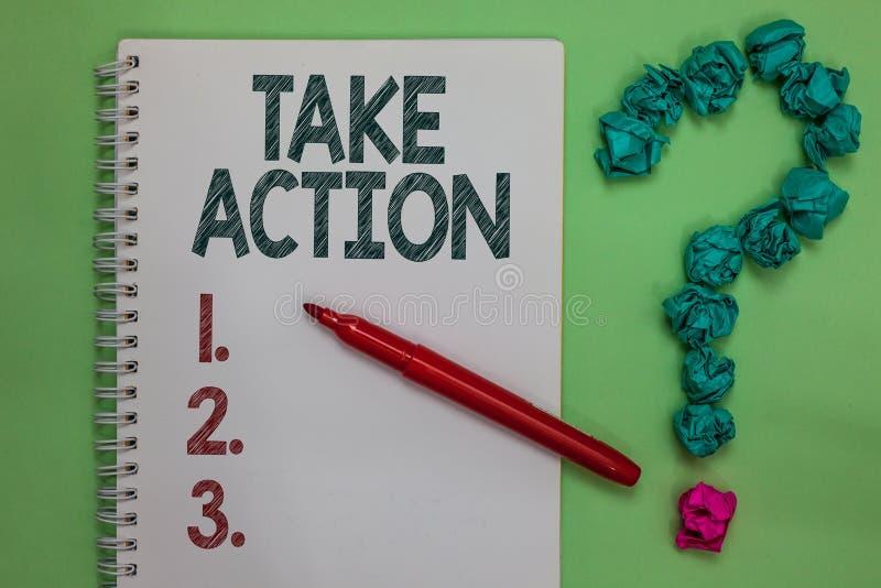 Ação de Talke do texto da escrita O apoio do significado do conceito o que você diz não apenas palavras mas através do marcador d fotos de stock