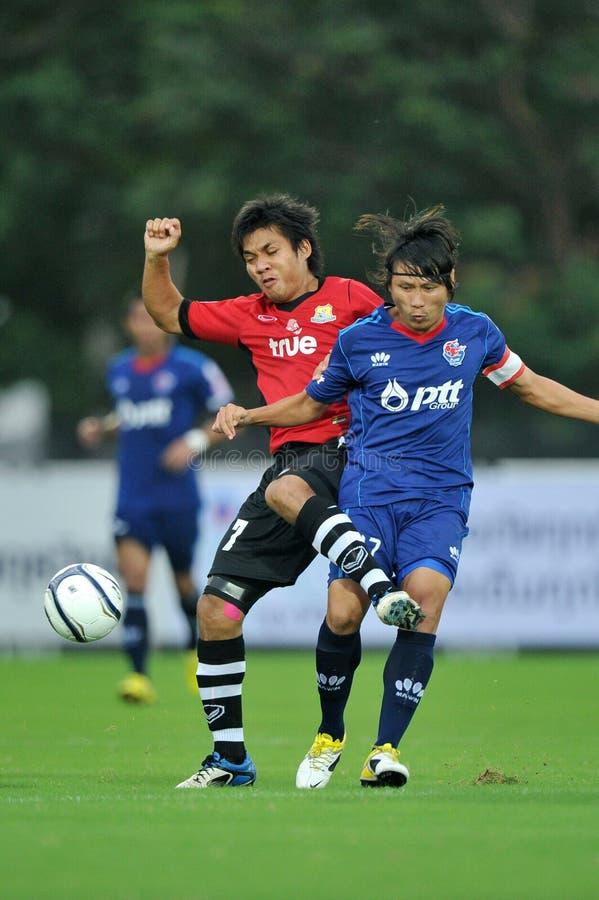 Ação no copo 2011 da liga de Toyota fotos de stock