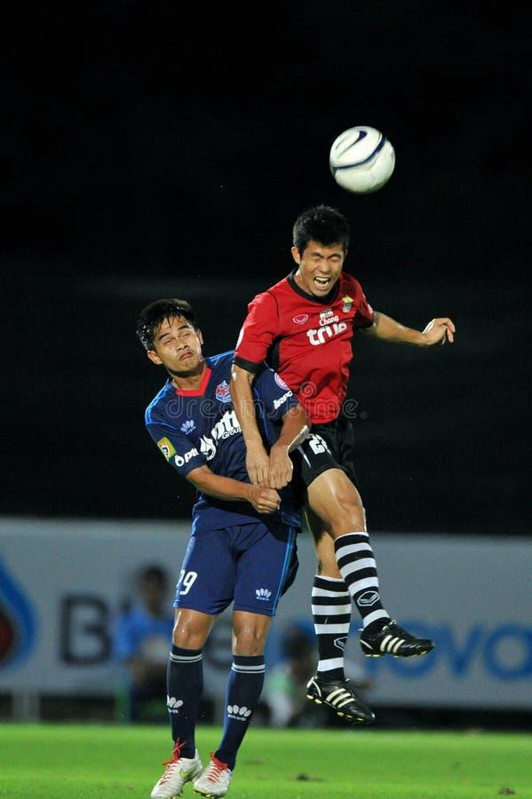 Ação no copo 2011 da liga de Toyota fotografia de stock