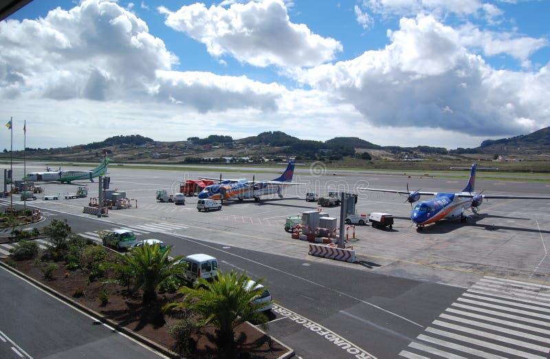 Ação Tenerife do aeroporto fotos de stock royalty free