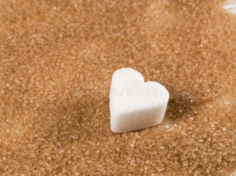 Açúcar de Brown foto de stock royalty free
