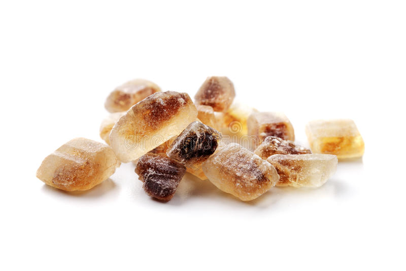 Açúcar de Candi imagens de stock royalty free