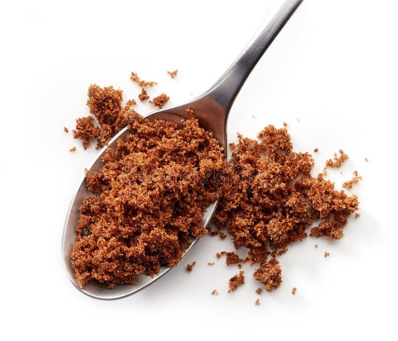 Açúcar de Muscovado fotografia de stock