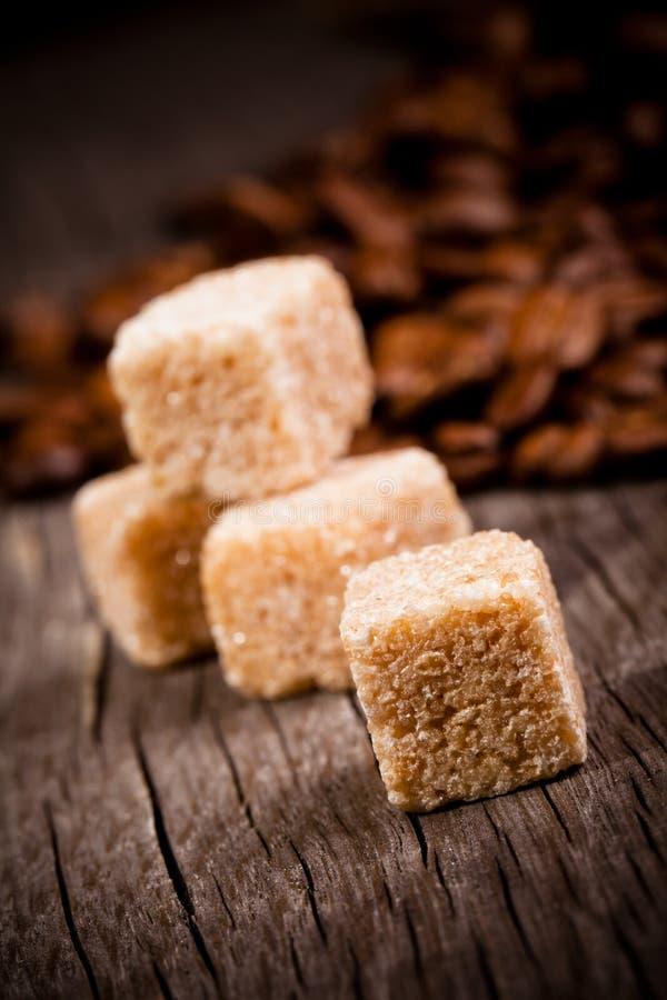 Açúcar mascavado imagem de stock royalty free