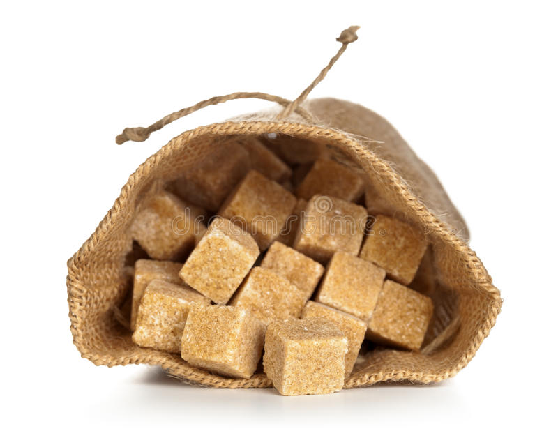 Açúcar mascavado foto de stock royalty free