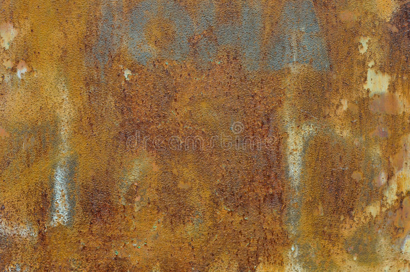 Aço da oxidação imagem de stock
