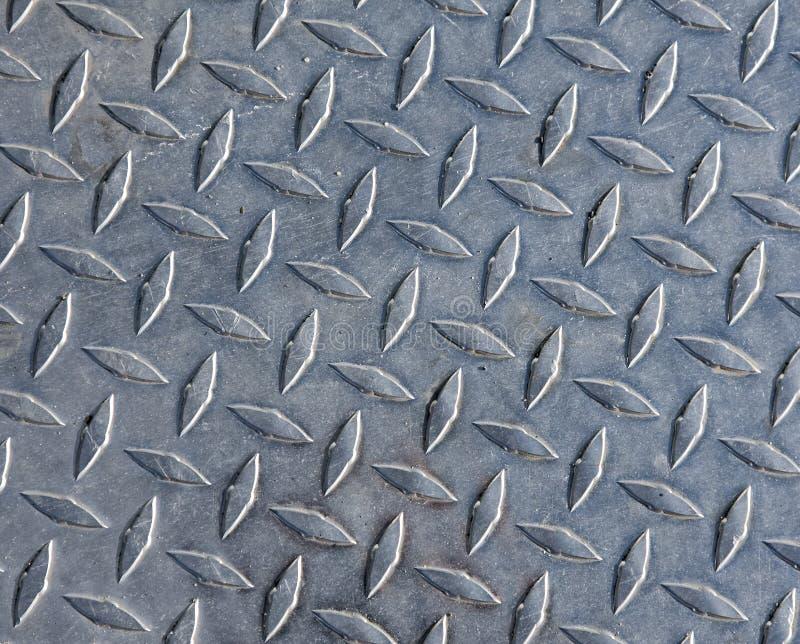 Aço Da Placa Do Diamante Foto de Stock