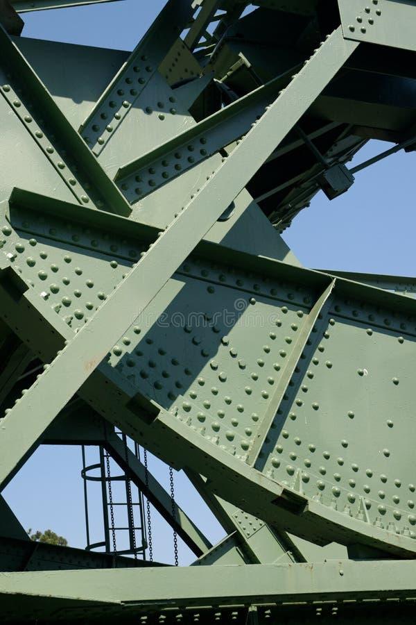 Aço da ponte foto de stock