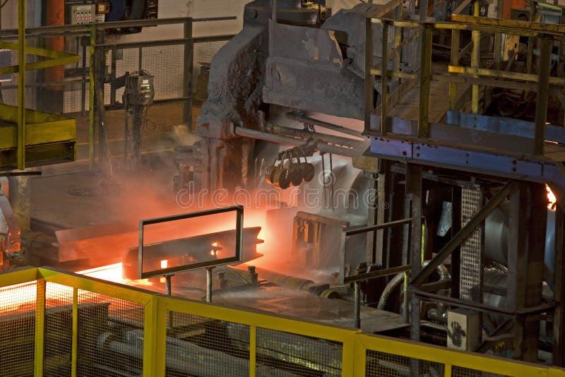 Aço encarnado de rolamento. imagem de stock