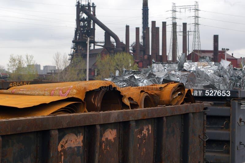 Aço Oxidado Imagem de Stock