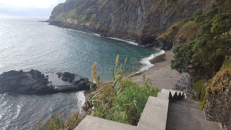 Açores - Caloura fotografia de stock