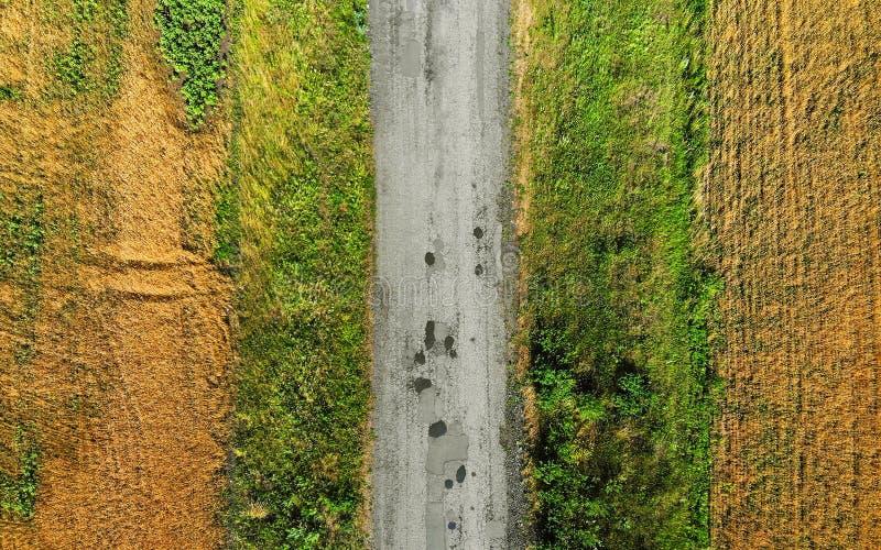 aéreo Camino rústico fotos de archivo