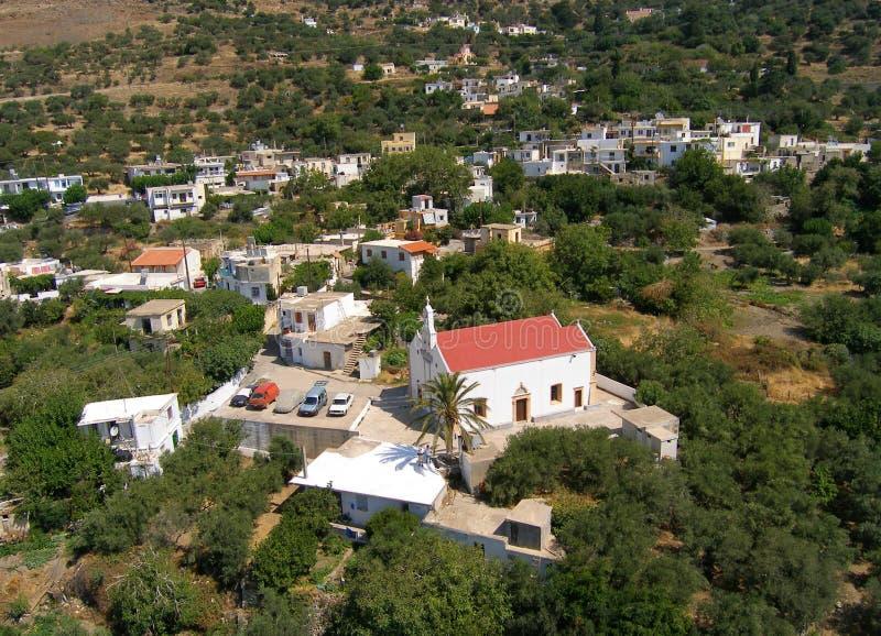Aérez la photographie, Amiras Héraklion, Crète, Grèce photographie stock