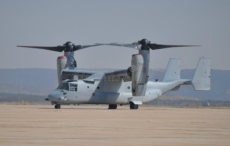 Aéronefs d'Osprey de l'usmc MV-22 photos stock