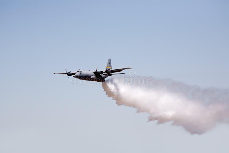 Aéronefs de lutte contre l'incendie photos libres de droits