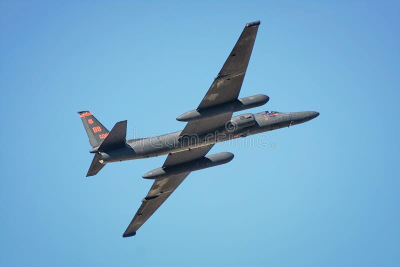 Aéronefs de reconnaissance U2 images libres de droits