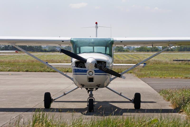 Aéronefs légers de Cessna images stock
