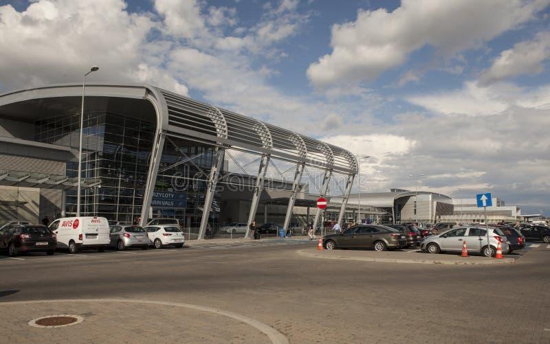 Download Aéroport à Poznan, Pologne photographie éditorial. Image du économie - 45350252