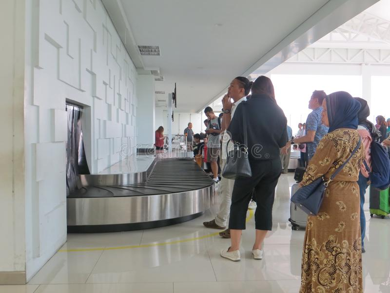Aéroport d'Ahmad Yani à Semarang photo libre de droits