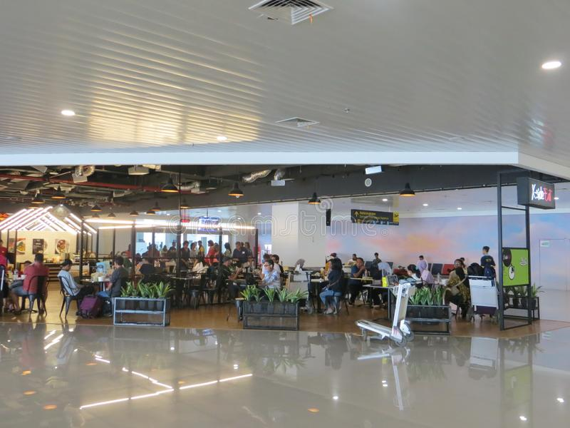 Aéroport d'Ahmad Yani à Semarang photo stock