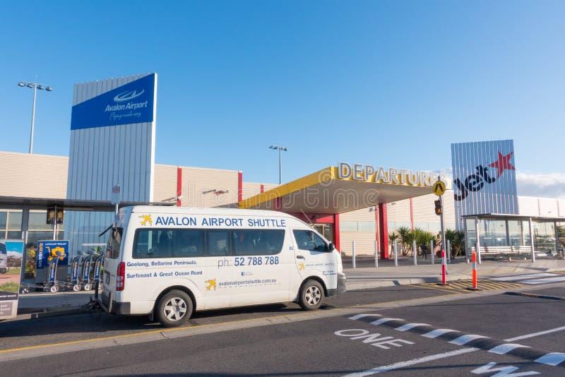 Aéroport d'Avalon, Australie de Melbourne photographie stock libre de droits