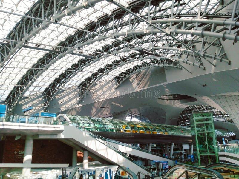 Aéroport d'Incheon photo stock