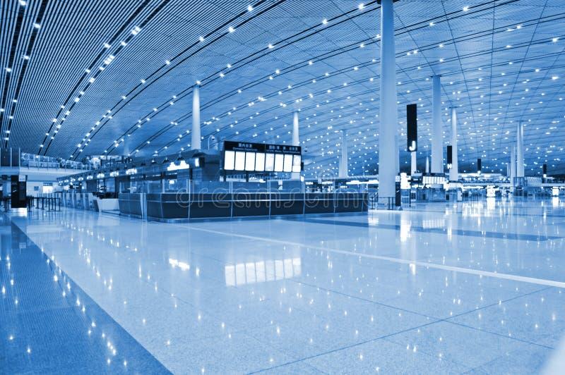 Aéroport d'internationl de Pékin image stock
