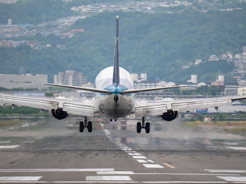 Aéroport d'Itami au Japon image libre de droits