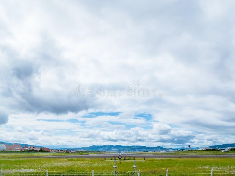 Aéroport d'Itami au Japon image stock