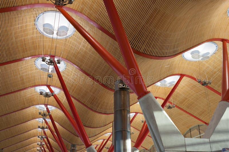 Aéroport de Barajas photographie stock