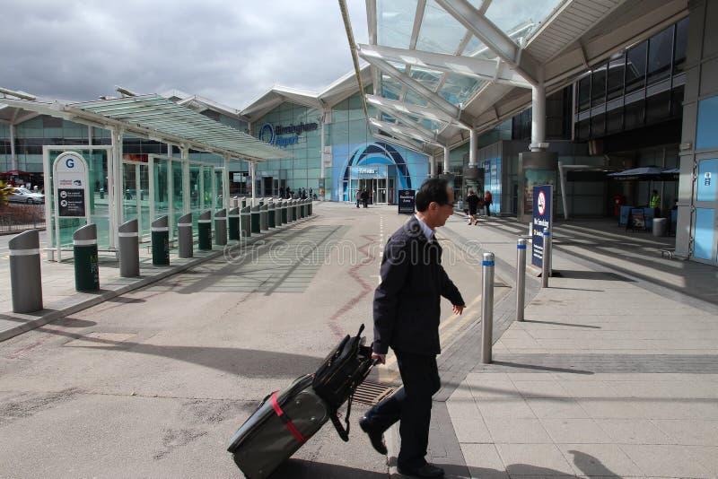 Aéroport de Birmingham photos stock