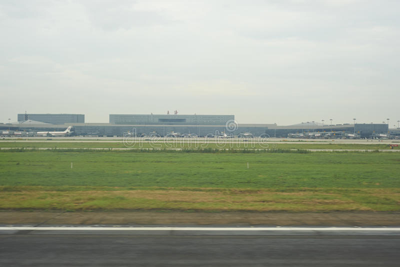 Aéroport de Changhaï photos libres de droits