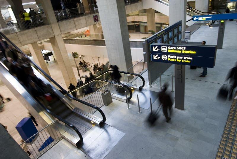 Aéroport de Charles de Gaulle images stock
