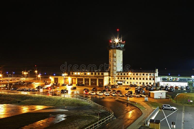Aéroport de Francfort-Hahn en Allemagne image stock