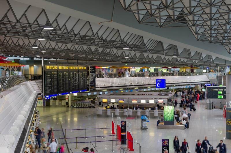 Aéroport de Francfort sur Main image stock