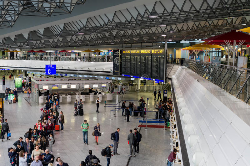 Aéroport de Francfort sur Main images stock