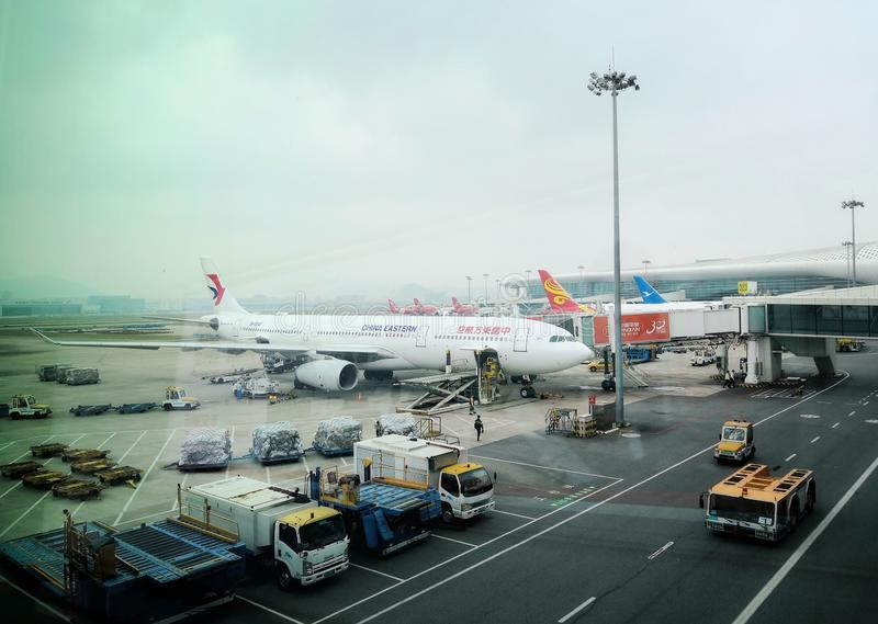 Aéroport de Guiyang images stock
