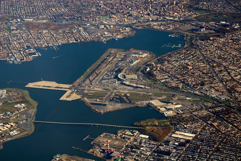 Aéroport de LaGuardia image libre de droits