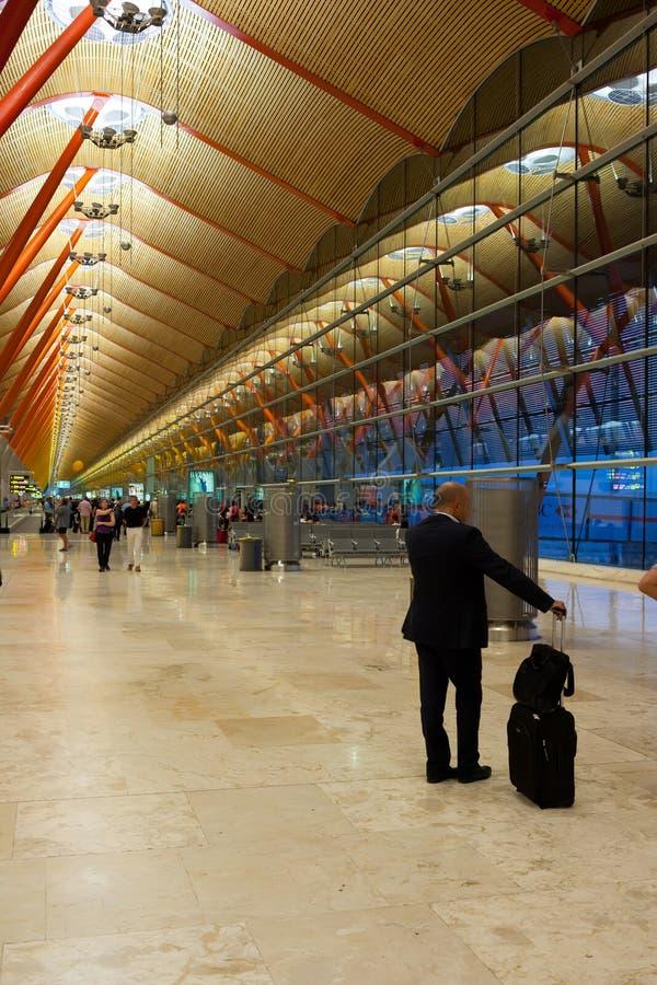 Aéroport de Madrid photo libre de droits