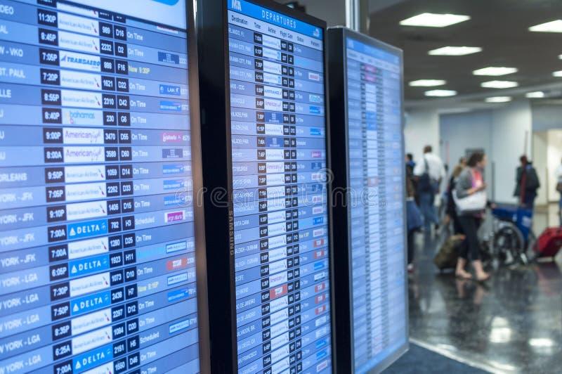 Aéroport de Miami image stock